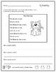 9 Weeks of Phonics Word Families Homework (Version 1)