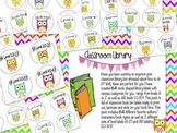 90 Labels for your Upper Elementary Classroom Library