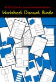 93 Discount worksheets Bundle