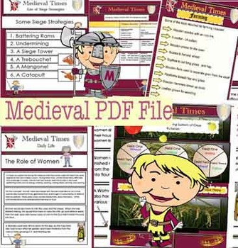 95 Page PDF Medieval (Middle Ages) File