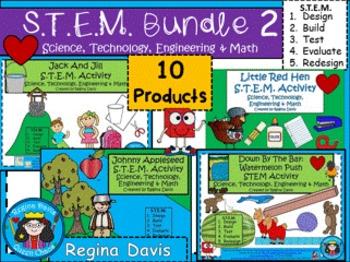 STEM Bundled Set 2 Science, Technology, Engineering & Math