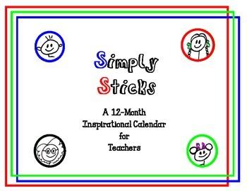 A 12-Month Inspirational Calendar for Teachers