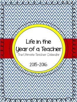 A 2015-2016 Teacher Planner