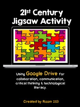 A 21st Century Jigsaw Activity (Freebie)