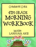 A 4th Grade Morning Workbook - Bell Work for Language Arts