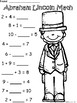 A+ Abraham Lincoln: Math... Addition and Subtraction Diffe
