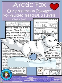 A+ Arctic Fox  Comprehension: Differentiated Instruction F