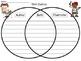 A+ Author & Illustrator Venn Diagram...Compare and Contrast