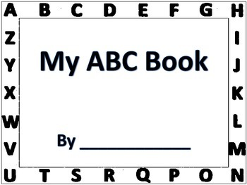 A-B-C- Book Reading and Writing Literacy Daily 5 Word Work
