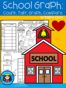 A+ Back To School: Count, Tally, Graph, and Compare