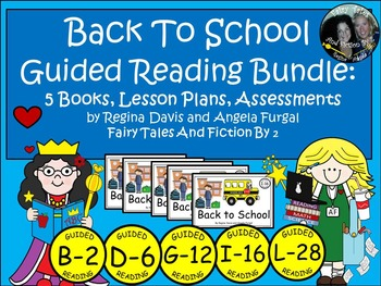 A+ Back To School Guided Reading Set-5 Books, Lesson Plans