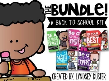 A Back to School Kit - THE BUNDLE!