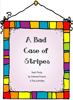 A Bad Case of Stripes Book Companion