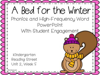 A Bed for the Winter, PowerPoint, Kindergarten, Unit 2, Week 5