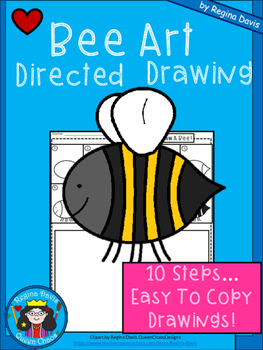 A+ Bee Art: Directed Drawing