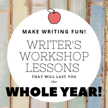 Writer's Workshop Templates for all Seasons!  10 kit BUNDLE!