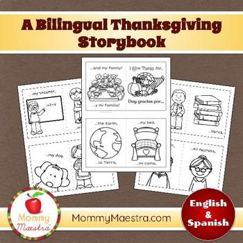 A Bilingual Thanksgiving Storybook