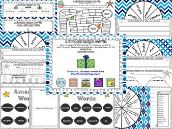 A Birthday Basket for Tia Spelling and Vocabulary Games