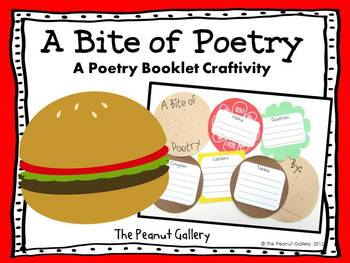 A Bite of Poetry (A Poetry Booklet Craftivity)