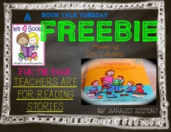 A Book Talk Tuesday FREEBIE!!