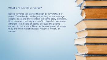 A Books in Verse Bonanza!
