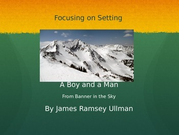 A Boy and A Man by James Ramsey Ullman Short Story Lesson