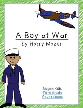 A Boy at War Novel Unit