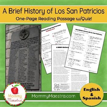 A Brief History of Los San Patricios