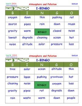 A Brilliant -  I-BINGO – Atmosphere and Pollution - Intera