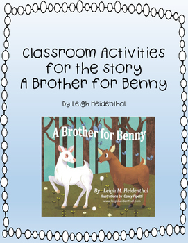 A Brother for Benny Activities