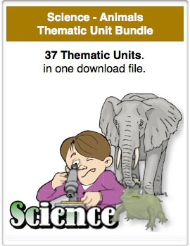 A Bundle - Science-Animals Thematic Units