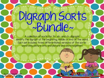 Digraph Sort Bundle (Ch, Sh, Th)