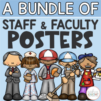 A Bundle of Faculty and Staff Posters
