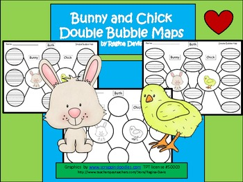 A+ Bunny & Chick:  Double Bubble Maps