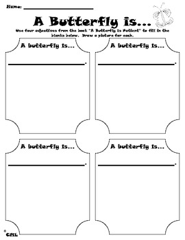A Butterfly is Patient Writing