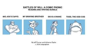 A COMIC PHONIC READING AND WRITING BUNDLE