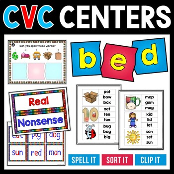 CVC Interactive Word Study and Learning Center