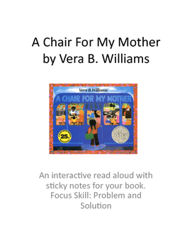 A Chair For My Mother: A Problem/Solution Read Aloud