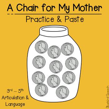 #octSLPmustHAVE A Chair for My Mother: Language & Literacy