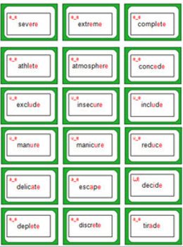 'BOSSY E' - A Challenging Split Digraphs (bossy E) Phonics