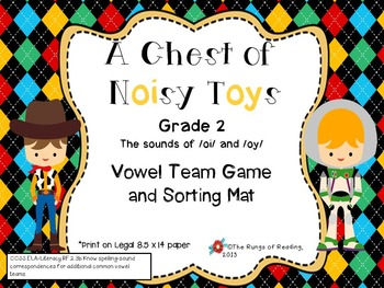 A Chest of Noisy Toys (vowel sound of oi and oy )