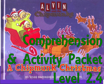 A Chipmunk Christmas Comprehension Activity Packet : Book