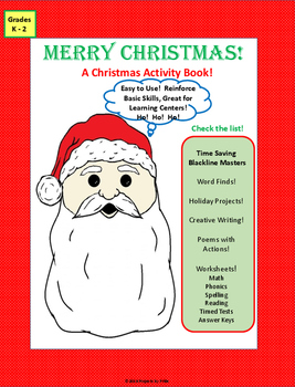 A Christmas Activity Book
