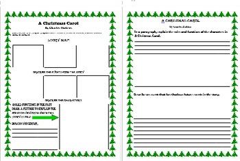 A Christmas Carol: Story Map, Personal Narrative, Paragrap