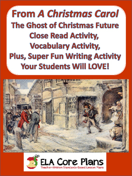 A Christmas Carol~ Fun, Engaging ELA Activity