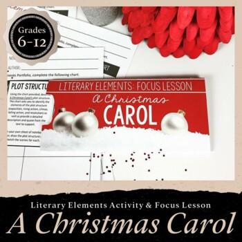 A Christmas Carol Literary Elements Focus Lesson
