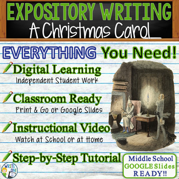 A Christmas Carol - Charles Dickens - Text Dependent Analy