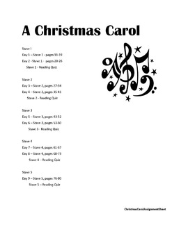 A Christmas Carol Literature Circle with Common Core Standards
