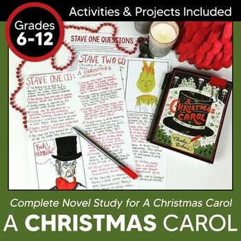 A Christmas Carol Unit: Complete Novel Study