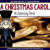 Christmas Carol Unit - Reader's Theater, Vocabulary, Cente